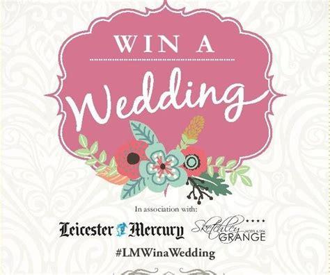 Win Wedding Money 2016 - win a wedding 2016 leicester mercury competiton