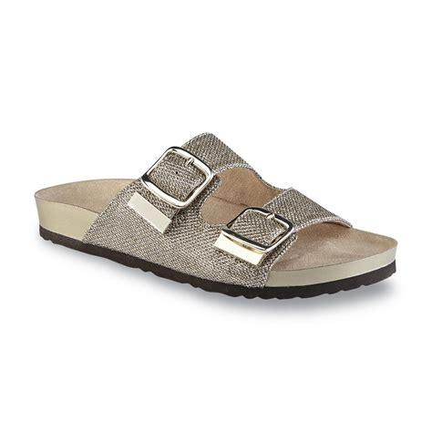 river shoes womens river blues s staci gold slide sandal shoes