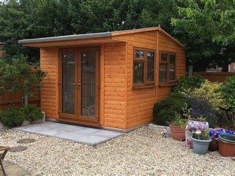 Garden Pleasure Sheds by 12 X 12 Upvc Office Doors Garden Pleasure