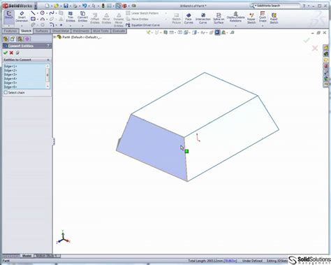 sketchbook pro tutorial beginners solidworks 3d sketch tips