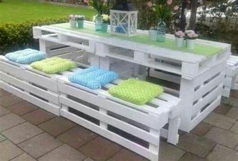 tavoli fatti con bancali tavoli con panche in legno con pallet bancali eur epal