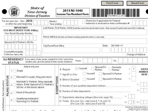 Collection Of What Is The Nj 1040 Tax Form Powerpointban Web Fc2 Com