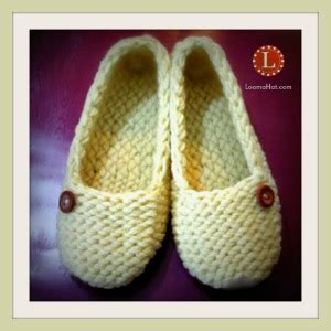 how to loom knit slippers loom knit slippers free pattern