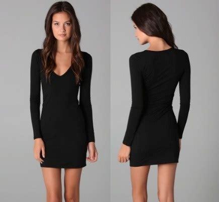 long sleeved  black dress nasha bendes