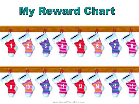 printable christmas reward charts christmas reward charts