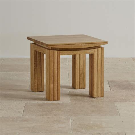 Oak Side Tables For Living Room Tokyo Solid Oak Side Table Living Room Furniture