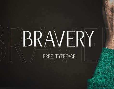 bravery font befontscom