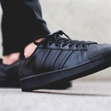 Sepatu Adidas Superstar Foundation All Black Original Limited Adidas Black Superstar Adidas Superstar Grey Gt 31