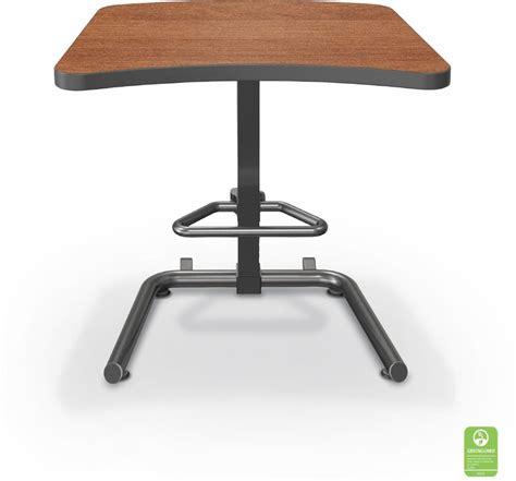 adjustable height workstation desk up rite workstation student height adjustable desk