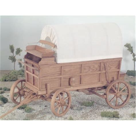 covered wagon woodworking plan