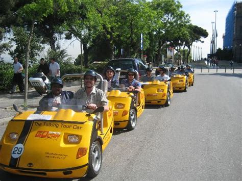 Go By Gocar by Gocar In Montjuic Picture Of Gocar Gps Guided Tours