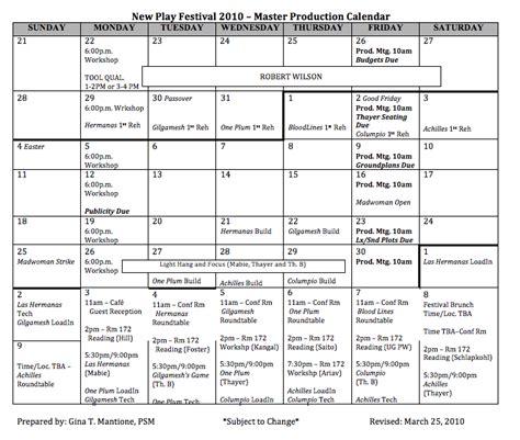 Theater Calendar Npf Master Production Calendar Theatre Arts Uiowa Wiki