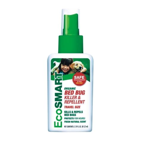organic bed bug spray ecosmart organic insect killer for bed bugs 2 75 oz 33165