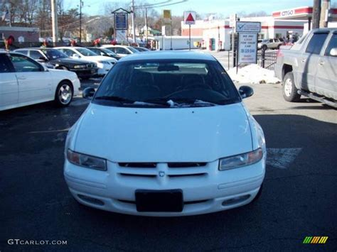 white dodge stratus 2000 white dodge stratus es 42134239 photo 3