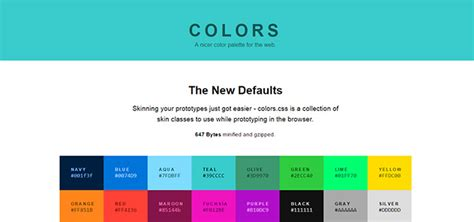 css colors tools colors cssライブラリまとめ naver まとめ
