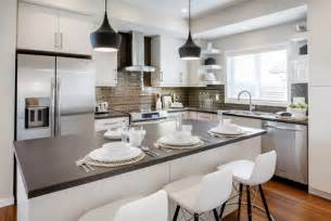 Quartz Kitchen Countertop Ideas by Cambria Devon Quartz Kitchen Countertops Design Ideas