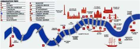 thames river boat cruise map thames route maps and piers thames cruises