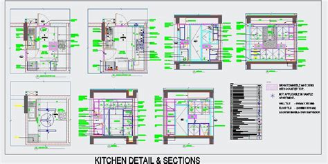 kitchen details and design kitchen 9 x10 design detail plan n design