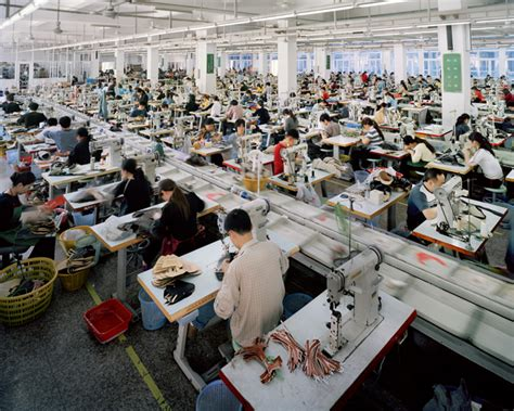 shoe factory manufacturing context