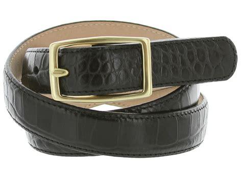 italian leather designer dress belt 1 quot wide