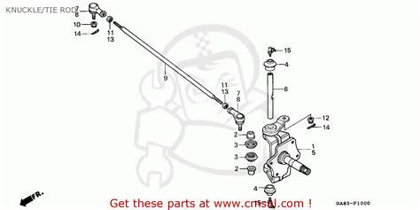 honda trx fourtrax  canada parts lists car interior design