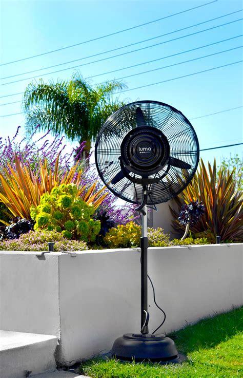 outdoor oscillating fans patio luma comfort 24 quot oscillating misting fan mf24b