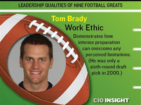 the work ethic of tom brady peyton manning and aaron rodgers how elite athletes prepare practice and think books leadership qualities of nine football greats