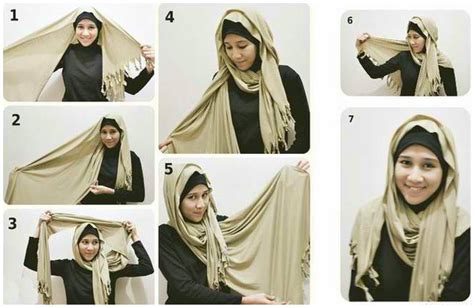 tutorial fashion berhijab tutorial model hijab modern