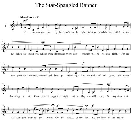 printable star spangled banner sheet music quotes by anacreon like success