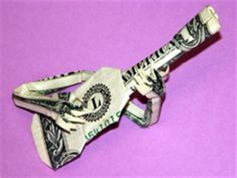 Origami Guitar Dollar Bill - 1000 images about origami on
