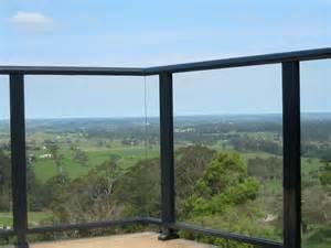 Steel Awnings For Home Balustrades Powder Coated Aluminium Framed Glass