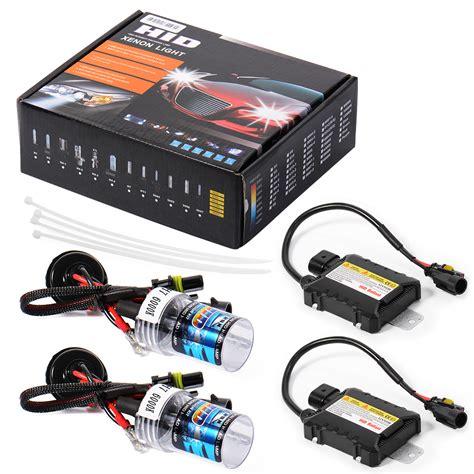 Lu Hid Xenon Light Motor h7 55w 6000k car hid xenon headlight kit canbus error free