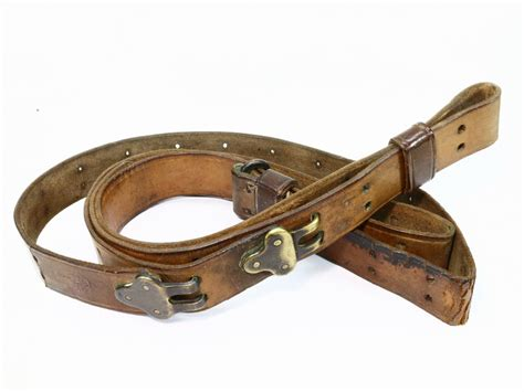 us ww1 1907 leather sling g k 1917 1419