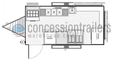 concession trailer floor plans concession trailer floor plans meze blog