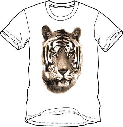 Tshirt Animal Kaos Animal Baju Animal 1 tiger desain kaos desain t shirt desain baju