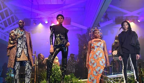 new york fashion week marvel persembahkan koleksi black
