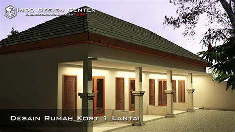 Rumah 1 Lantai G desain rumah kost 1 lantai jasa desain rumah kost