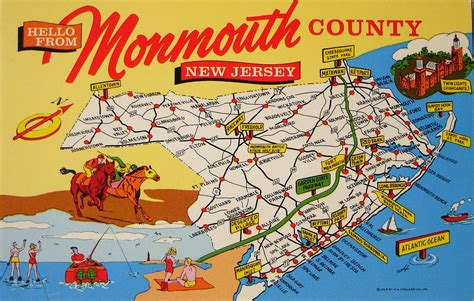 map of monmouth county new jersey moremonmouthmusings 187 things to do in monmouth county this