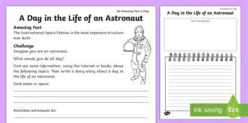 Chinese Design by A Day In The Life Of An Astronaut Worksheet Activity Sheet