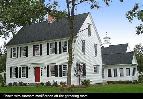 classic colonial house plans mine plus shutters home decor style pinterest