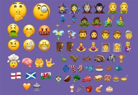 emoji baru iphone ios 11 akan hadir dengan 56 emoji baru unicode 10 macpoin
