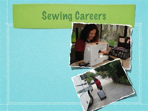 sewing careers presentation