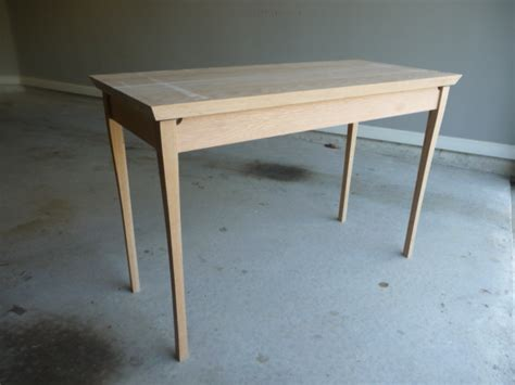 einfacher schreibtisch detailed woodworking plans for a new wooden desk