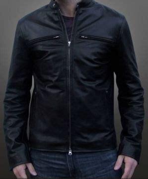 Jaket Kulit Casual Merah jaket kulit pria casual model x111