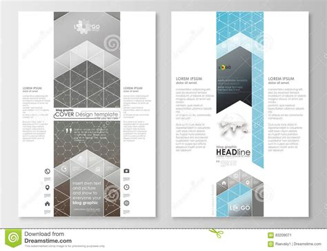 Blog Graphic Business Templates Page Website Template Easy Editable Flat Layout Scientific Graphic Design Study Template