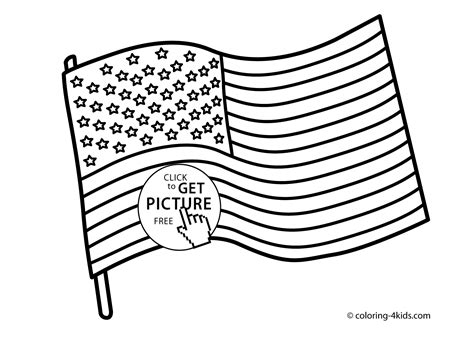 Usa Flag Coloring Page usa flag coloring pages usa independence day coloring pages for printable free coloing