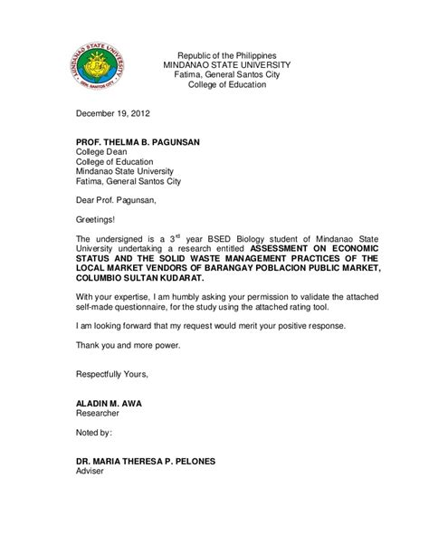 request letter for academic cooperation validation letter for thesis
