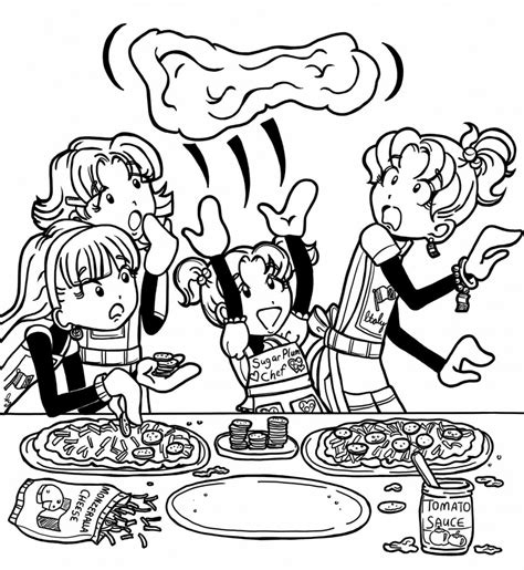dork diaries coloring pages printable coloring pages