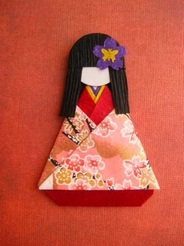 How To Make Origami Doll - best 25 japanese origami ideas on origami