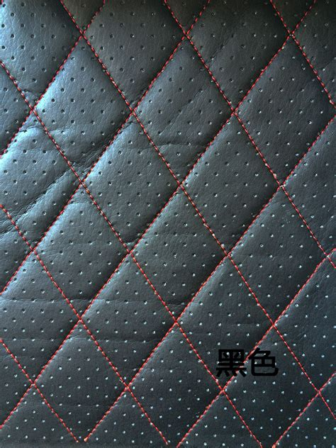es upholstery alcantara fabric furniture pu leather perforated